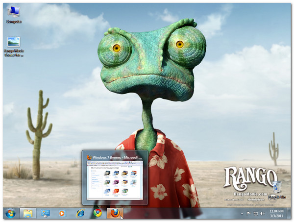 Rango Movie Theme for Windows 7