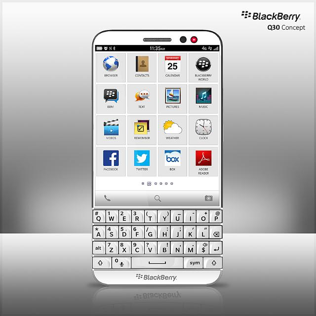 Blackberry Q 30 concept