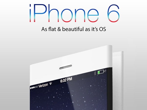 iPhone 6 concept by Pritesh Chavan