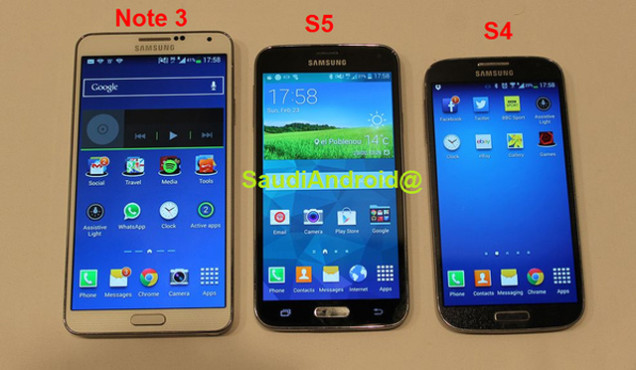 Samsung Galaxy S5 – Preview