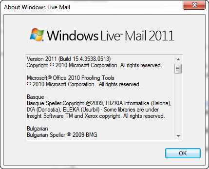 Download Windows Live 2011